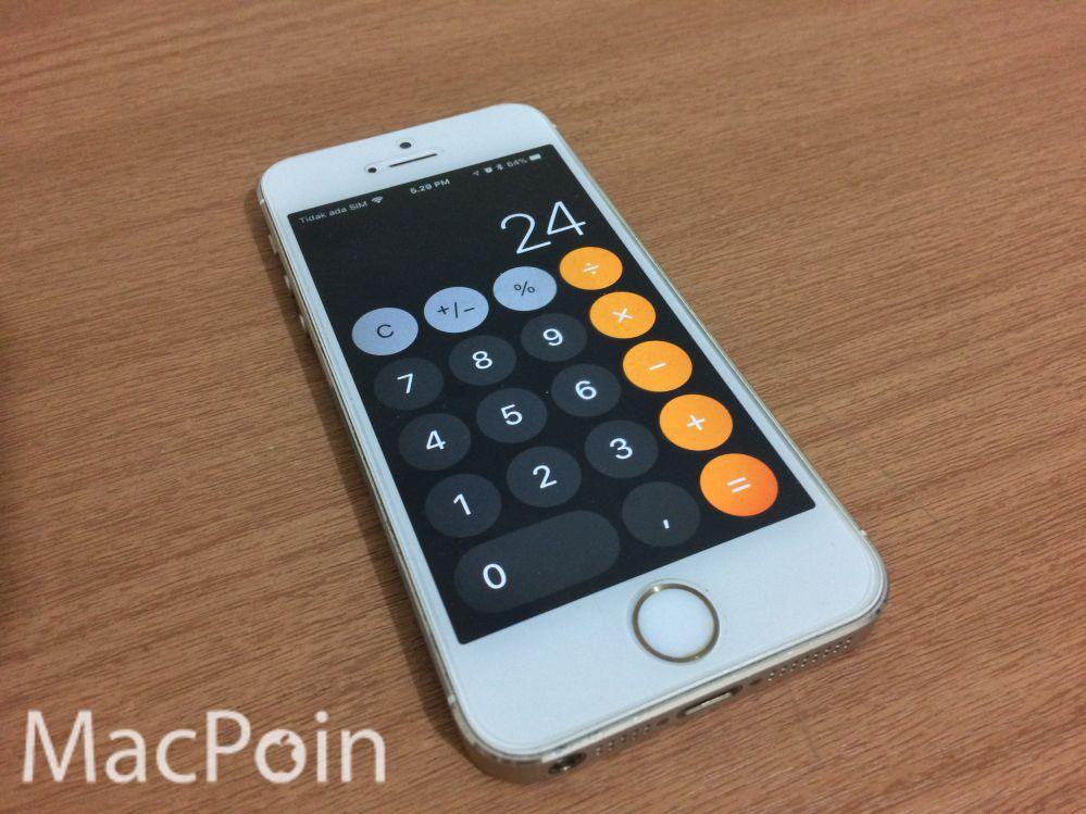 Awas! Bug Kalkulator iOS 11 Bisa Bikin Salah Hitung