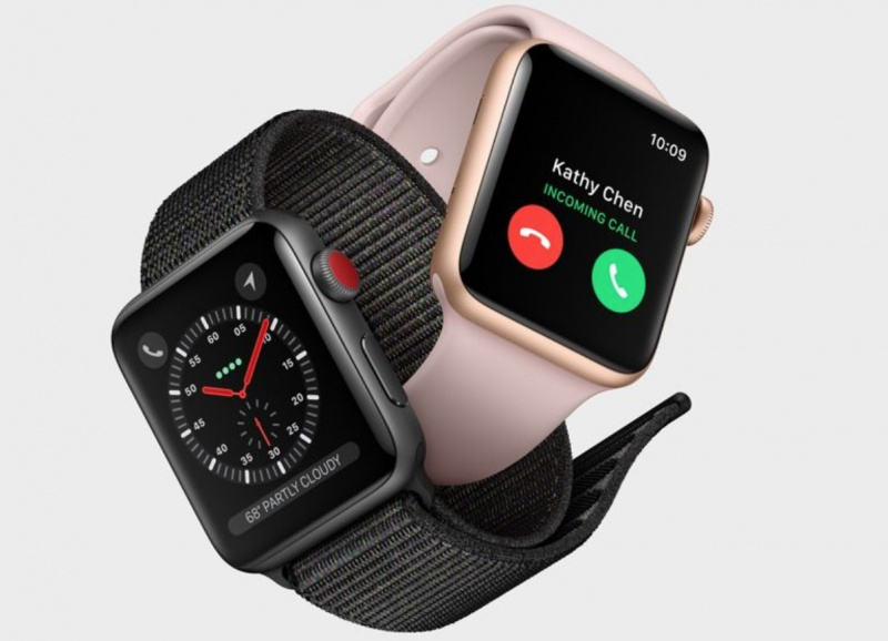 Update watchOS 4.0.1 Atasi Masalah LTE di Apple Watch Series 3