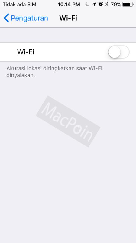 Tips Cara Mematikan Wi-Fi dan Bluetooth di iOS 11