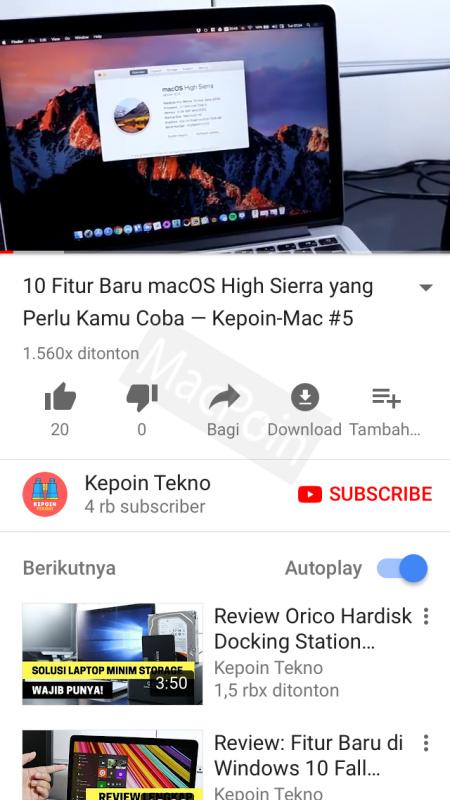 Tutorial Cara Download Video YouTube di iPhone