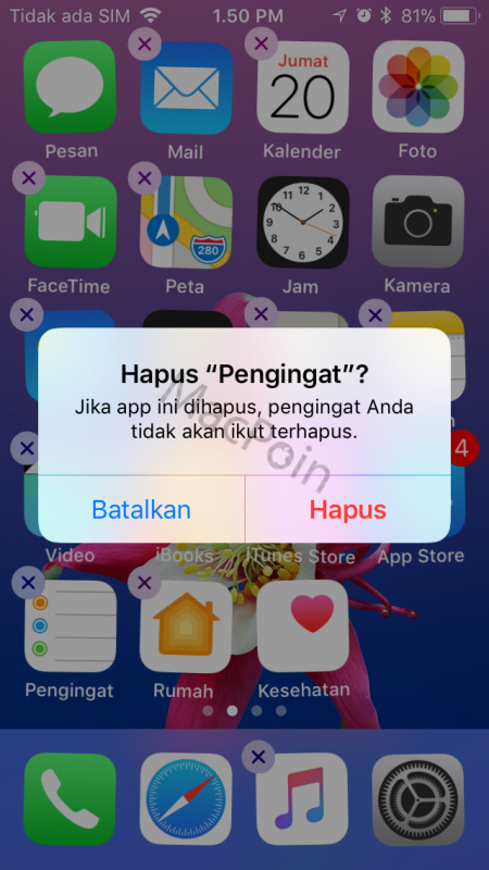 Cara Kembalikan Aplikasi Bawaan iPhone Yang Terhapus