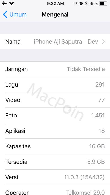 Cara Mengetahui Versi iOS Pada iPhone atau iPad