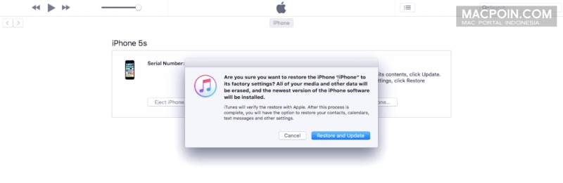 Cara Membuka iPhone yang Terkunci Karena Lupa Passcode (iPhone is Disabled)