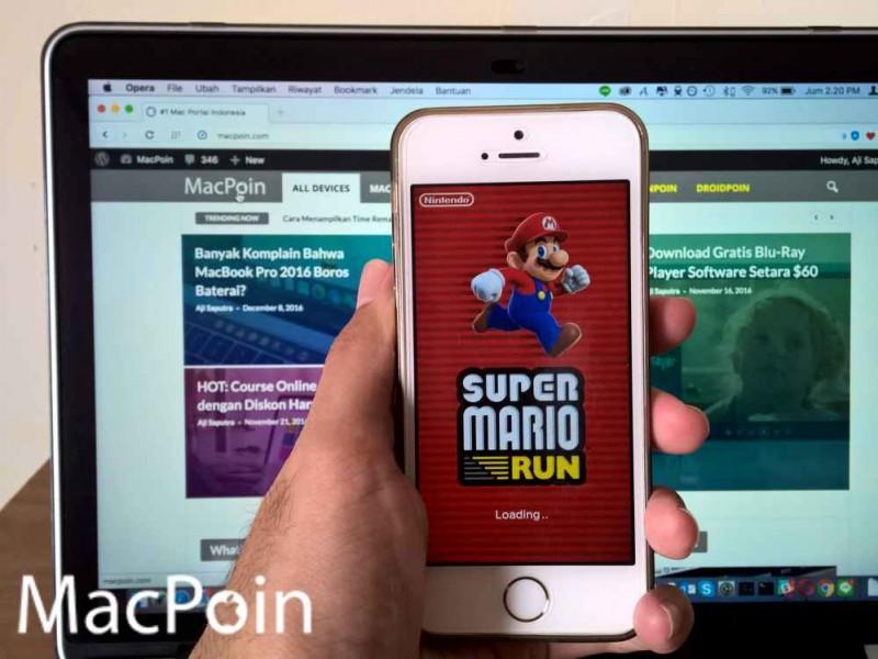 Super Mario Run Diskon 50%. Ayo Beli Selagi Murah!
