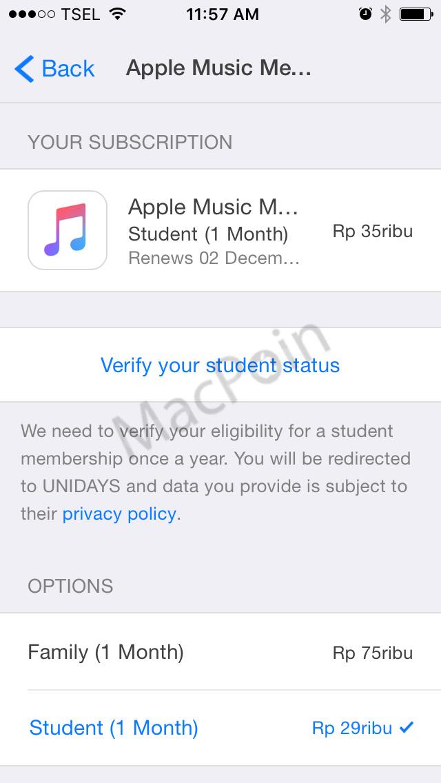 Harga Langganan Apple Music Turun Jadi Lebih Murah