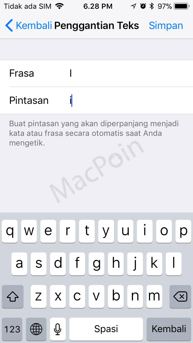 """Bug Autocorrect di iOS 11.1 Ubah """"i"""" Menjadi """"A"""""""