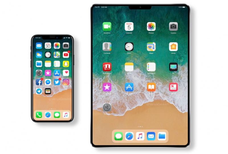 iPad Dengan Desain iPhone X Akan Segera Hadir di 2018?