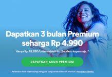 Dapatkan Promo Spotify Premium Murah Cuma Rp 4.990 Saja