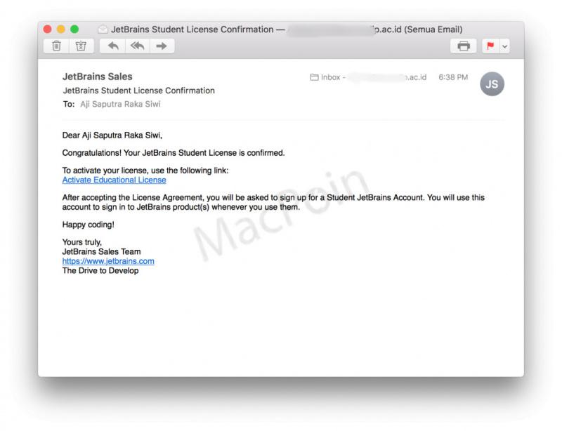 Cara Download Produk JetBrains Gratis Untuk Pelajar