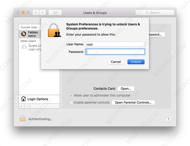 Bahaya! Ada Celah Akses Root User Tanpa Password di macOS High Sierra