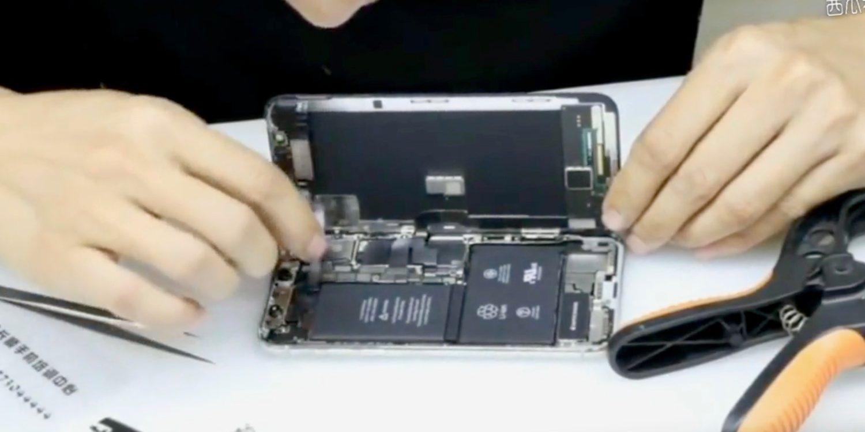 Seperti Ini Bagian Dalam iPhone X Ketika Dibongkar