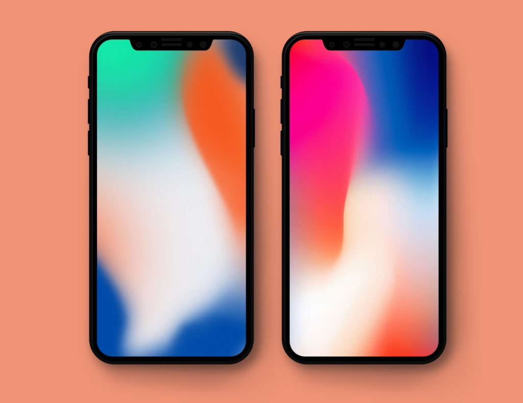 iPhone X presentation wallpapers splash