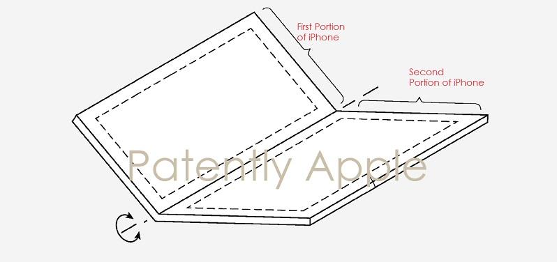 Apple Akan Siapkan Paten Layar Lipat Untuk iPhone?