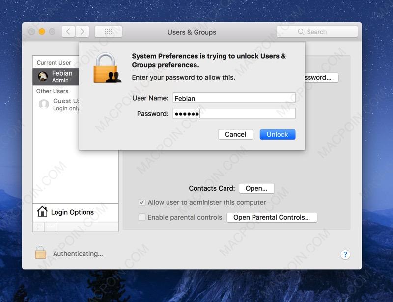 """Cara Mengatasi Celah Keamanan """"Root"""" Berbahaya di macOS High Sierra"""