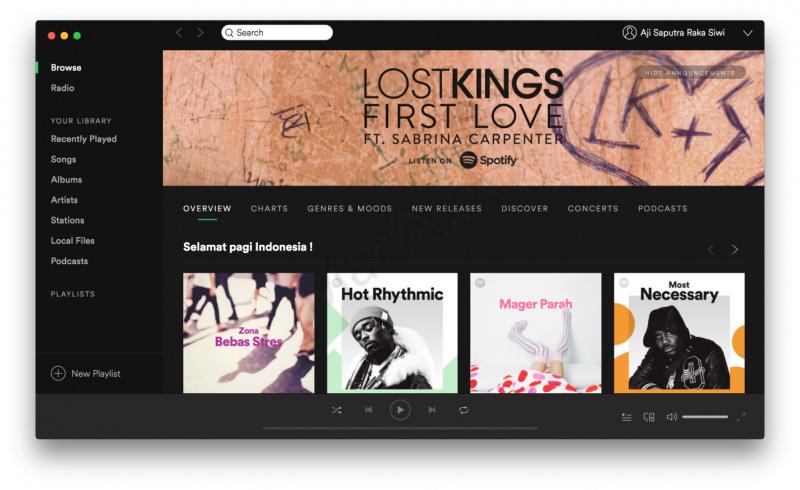 Cara Mendaftar Spotify Untuk Dengarkan Lagu Gratis