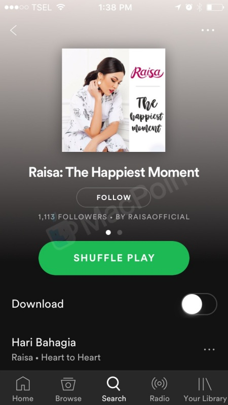 Cara Download Lagu Dari Spotify di iPhone dan iPad