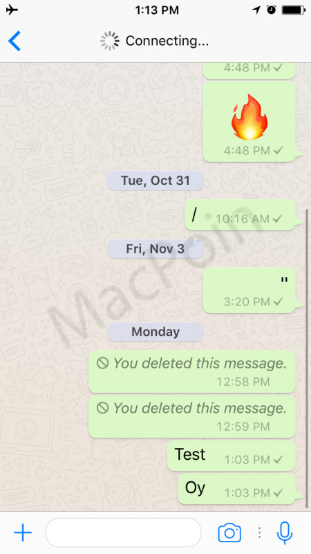 Cara Hapus Chat WhatsApp yang Terkirim Lebih Dari 7 Menit