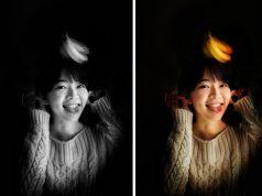 Membuat Efek Foto Stage Light Ala iPhone X