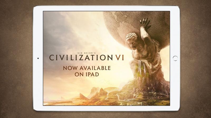 Sid Meier's Civilization VI Dirilis Gratis ke App Store