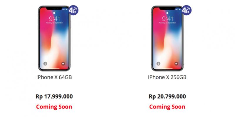 Harga Resmi iPhone X di Indonesia Sudah Diumumkan