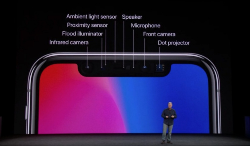 Benarkah Ada Lampu Merah Face ID di Notch iPhone X?