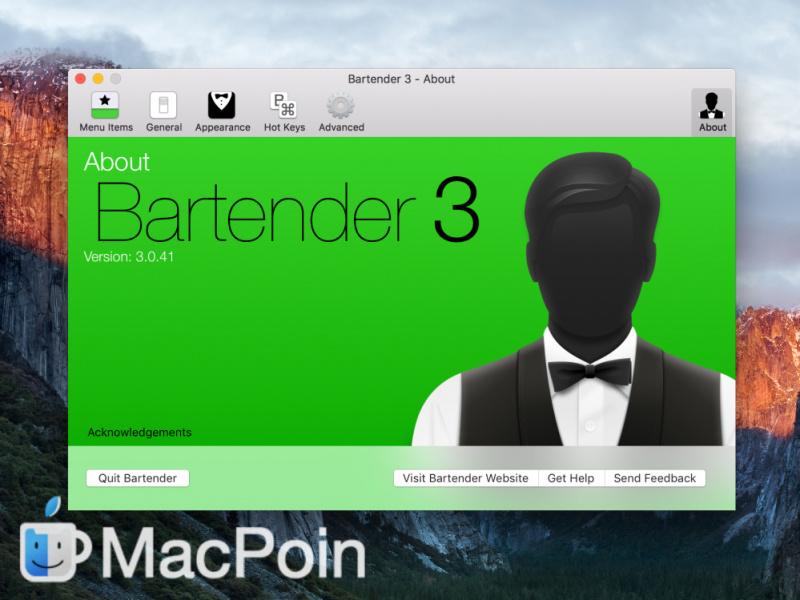 Akhirnya Bartender for macOS Resmi Hadir di Setapp
