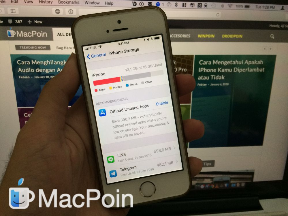 Cara Hapus File Other di iPhone dan iPad pada iOS 11