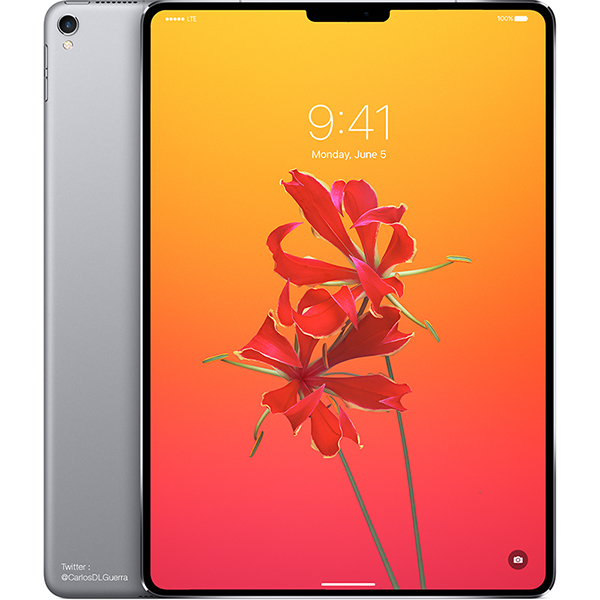 iOS 11.3 Ungkap iPad Modern Baru, Mirip iPhone X?