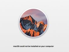 Cara Atasi Path Penyebab macOS Could not be Installed