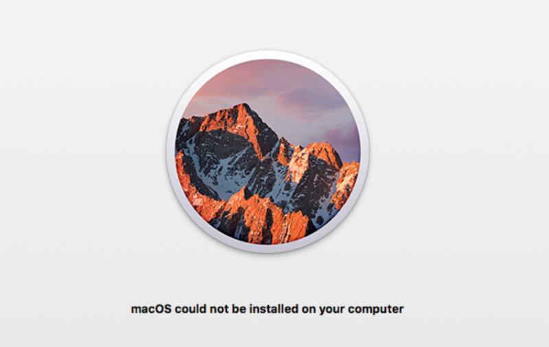 Cara Atasi Path Penyebab macOS Could not be Installed