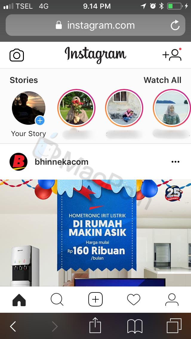 Trik Lain Biar Screenshot Instagram Stories Gak Ketahuan di iPhone