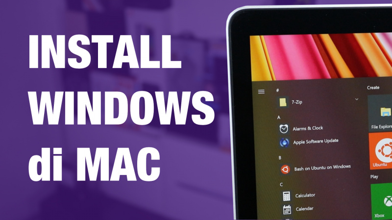 Cara Install Windows di MacBook / Mac (Dual Boot macOS dan Windows)