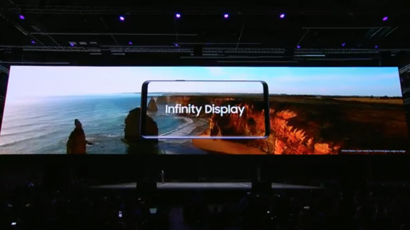 Presentasi Galaxy S9, Samsung Sindir Notch di iPhone X