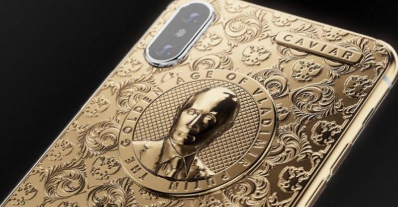 iPhone X Putin Edition dengan Balutan Emas Resmi Dirilis