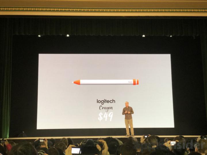 Logitech Rilis 'Crayon' Stylus Baru Untuk iPad