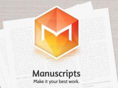 Manuscripts, Aplikasi Writing Tool Terbaik Kini Berubah jadi Gratis!