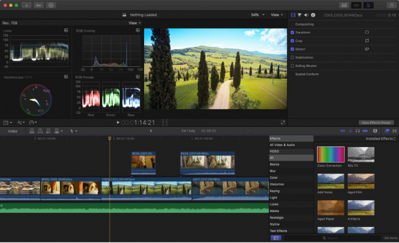 Update Final Cut Pro X Tambah Dukungan ProRes RAW