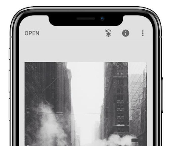 Update Terbaru Snapseed Kini Dukung Tampilan iPhone X