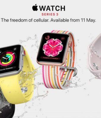 Apple Watch Series 3 LTE akan Dirilis di 3 Negara Baru. Indonesia?
