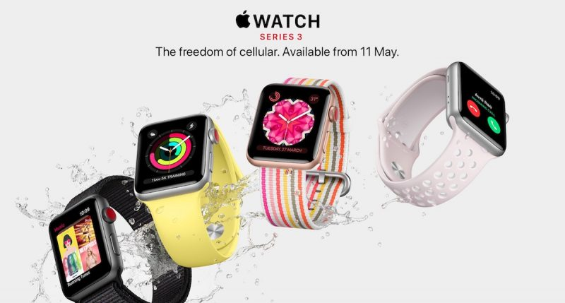 Apple Watch Series 3 LTE akan Dirilis di 3 Negara Baru. Indonesia?
