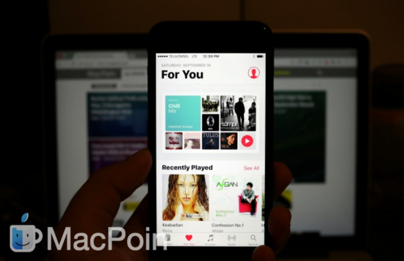 Fitur Screen Recording Di Apple Music Dihilangkan Di IOS