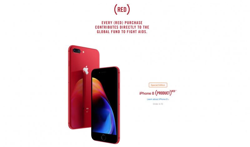 Resmi! Apple Rilis iPhone 8 dan iPhone 8 Plus (PRODUCT)RED Special Edition