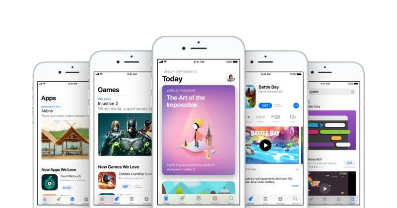 Jumlah Download Aplikasi iOS Naik 800% Berkat Tab Today di App Store