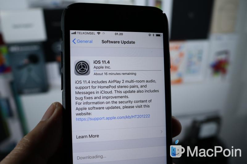 Resmi Dirilis: Inilah Fitur Baru iOS 11.4