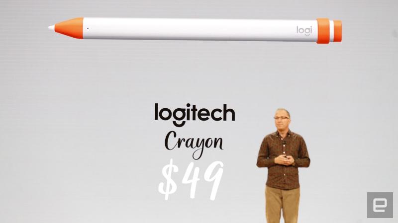 Inilah Logitech Crayon for iPad, Penantang Serius Apple Pencil