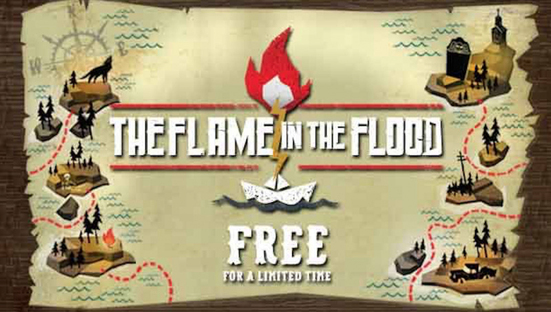 HOT: Download Game Gratis 'The Flame in the Flood' Berbatas Waktu