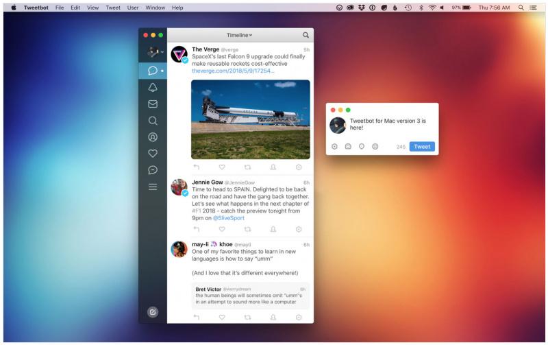 Tweetbot 3 for Mac Resmi Dirilis, Banyak Fitur Baru