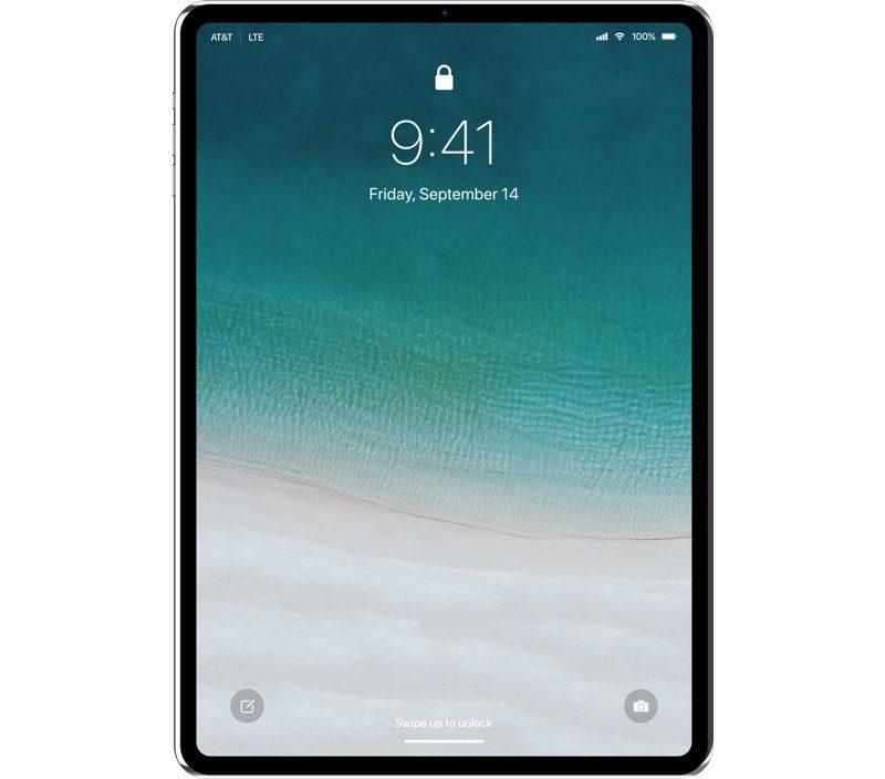Konsep iPad 11.9 Inch dengan Bezel Tipis dan Tanpa Notch