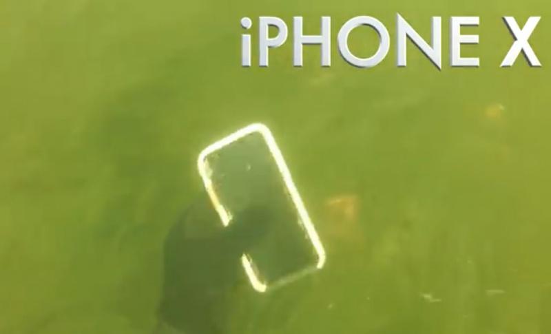 iPhone X Tidak Rusak Meski Seminggu Tenggelam di Sungai