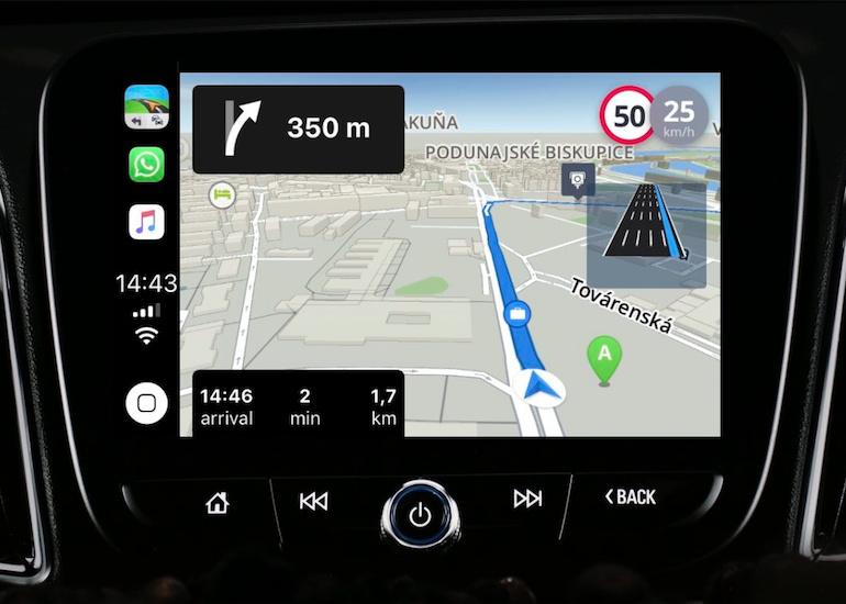 Peta Offline dari Sygic Akan Hadir di CarPlay di iOS 12